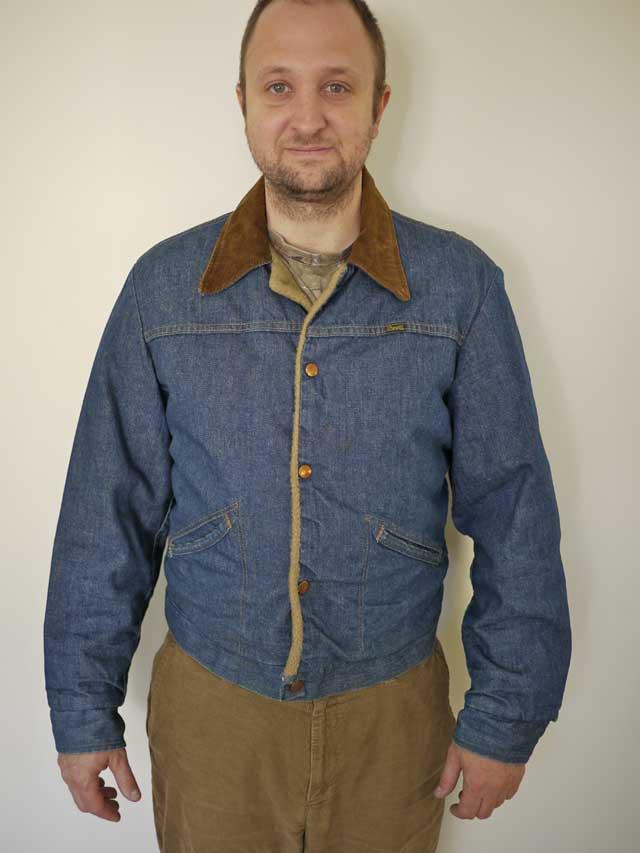 Jeep Sherpa Lined Fleece Jacket (For Men)