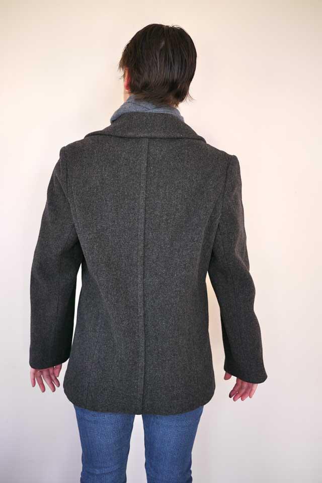 VTG Heritage LL Bean Women PEA Coat Peacoat 12 USA Made