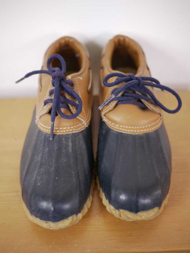 vtg 80s bass duck snow boots shoes usa 2 womens ebay