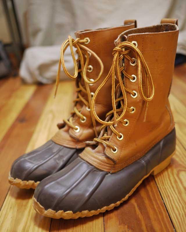 Vtg Herman Survivors Leather Duck Rain Snow Boots 8 41 Ebay