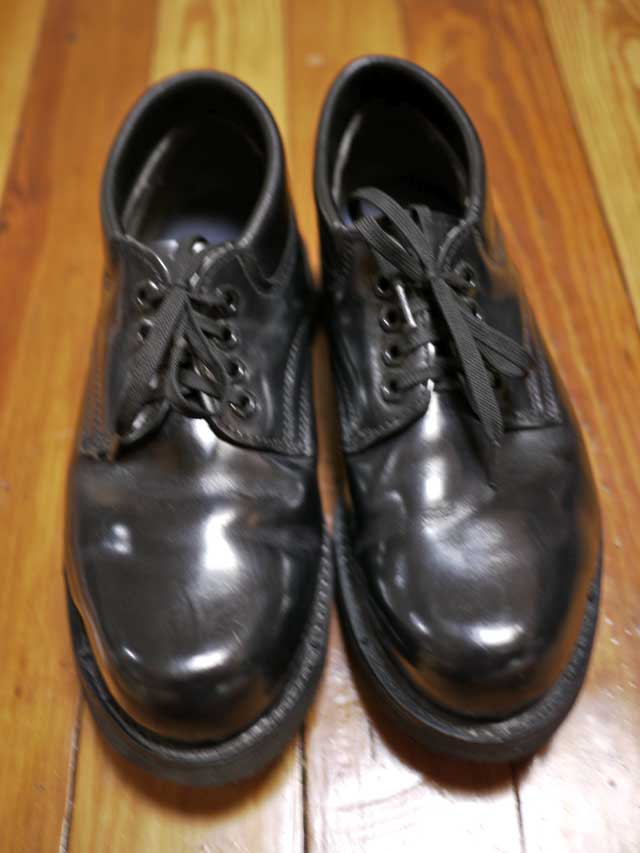 Toed Leather Shoes