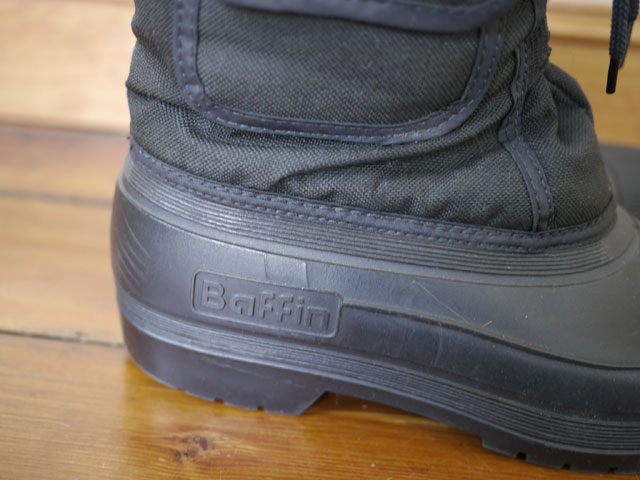 Baffin Canadian Insulated Rubber Snow Rain Boots Mens 9 W