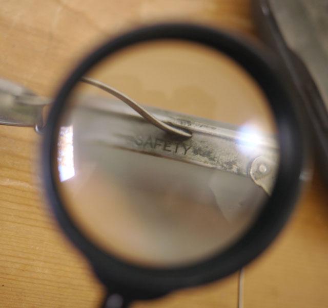 Vintage Antique Saniglass Kings Safety Glasses Goggles ...