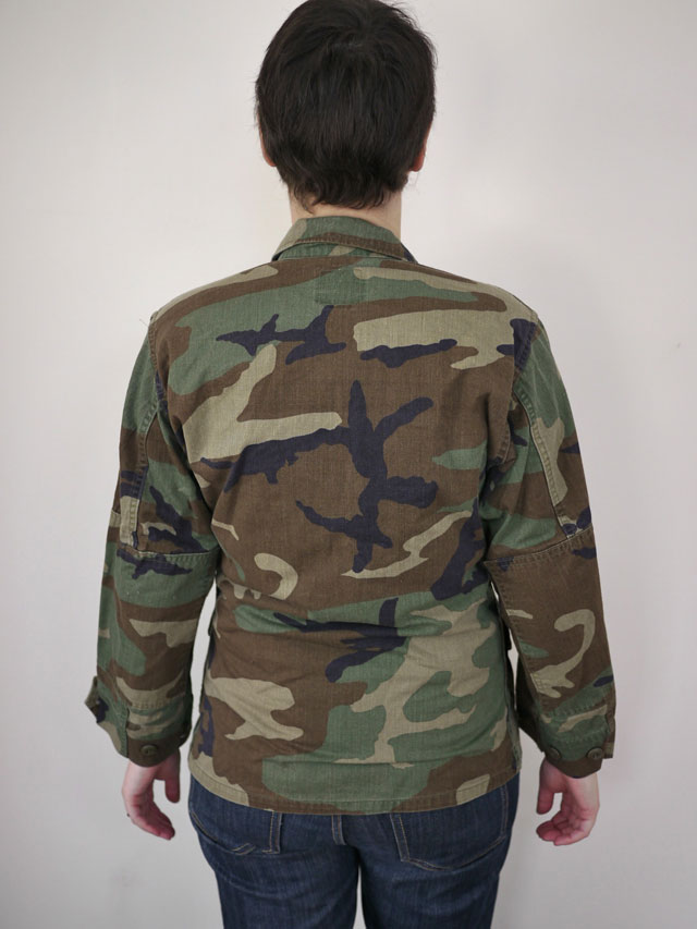 Vintage M65 US Army Military Woodland Camo Combat Field Jacket XS Xshort  Womens 1d3e563ae