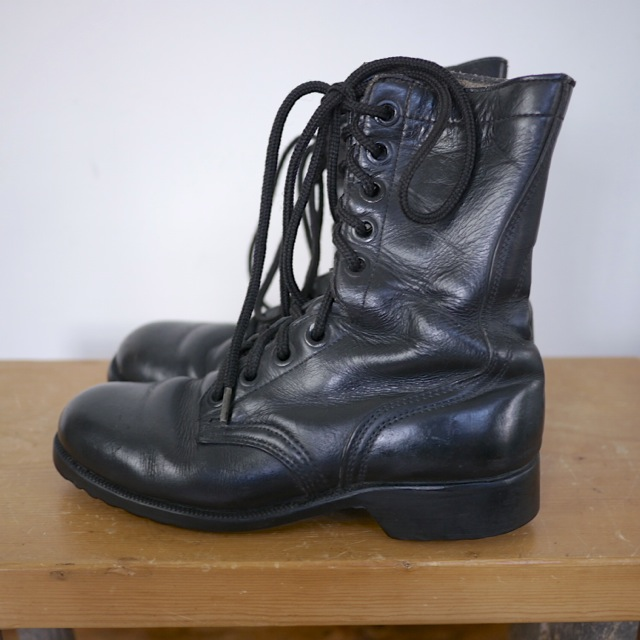 vintage 1980 us army combat jump boots all