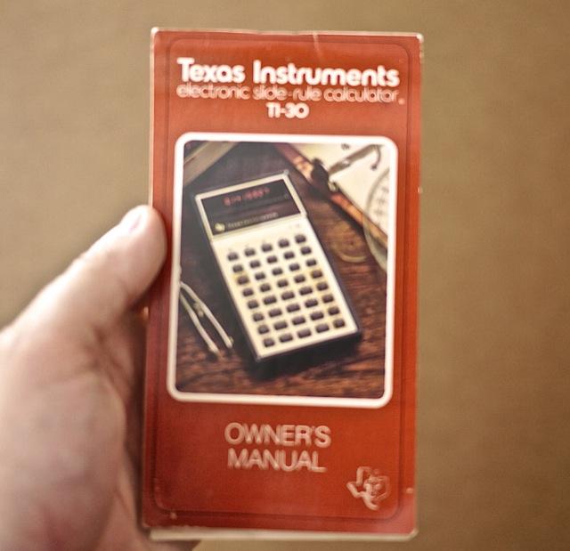 texas instruments ti 30x iis manual