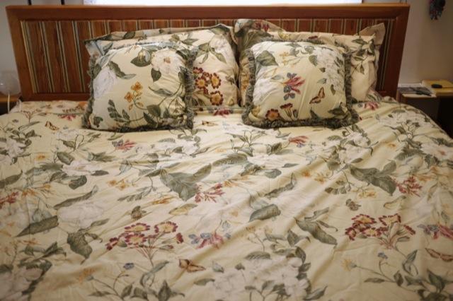 Williamsburg By Crown Crafts 90x77 King Duvet Comforter Pillows Shams Set Floral Ebay