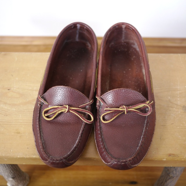how to clean ll bean moccasin slippers