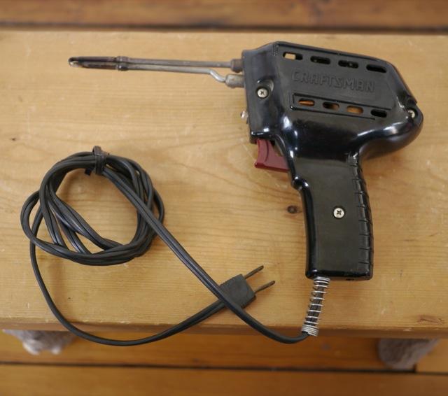 craftsman 120v model 146 5376 black soldering iron gun welder usa made 60 cyc ebay. Black Bedroom Furniture Sets. Home Design Ideas