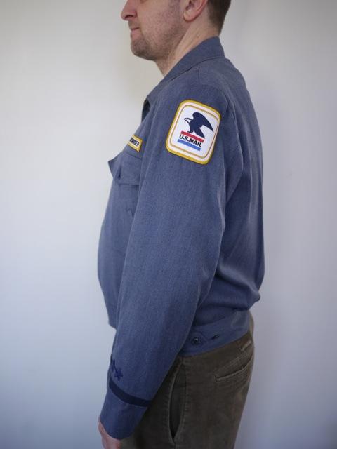 Vintage US MAIL USPS Postal Service Letter Carrier Uniform ... | 480 x 640 jpeg 47kB