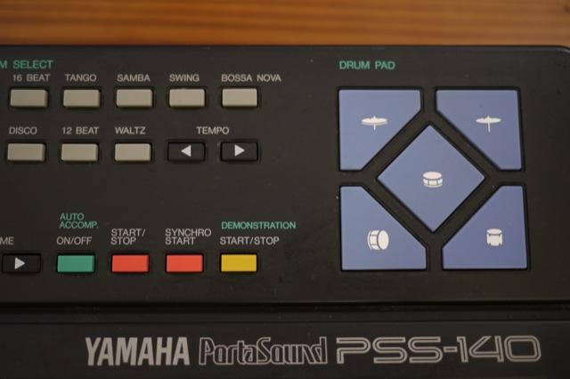 yamaha portasound pss 140 programmable multi instrument drum machine keyboard ebay. Black Bedroom Furniture Sets. Home Design Ideas
