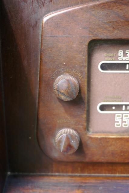 Antique 1946 Philco 10643c Am Shortwave Worldband Tube