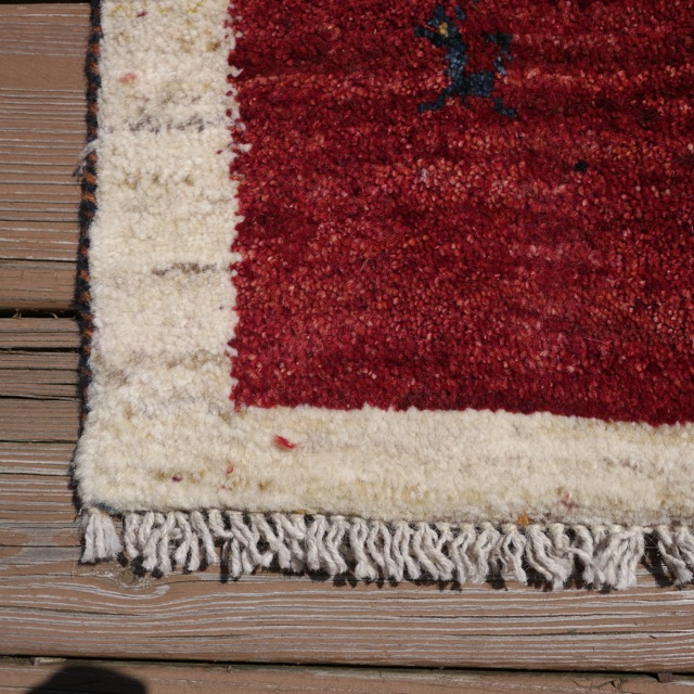 New Brand Devlin Persian Rug Handmade 100 Wool Area Rugs: Vintage Persian Gabbeh Colorful Animals 100% WOOL Rug