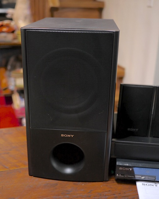 The gallery for --> Sony Home Theater Subwoofer
