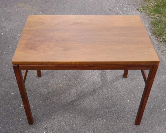 vintage mid century danish modern teak wood arbatove coffee side table