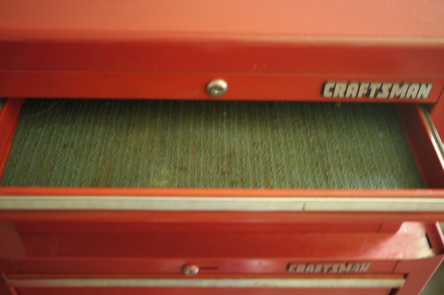 Mechanics 8 Drawer Tool Box Chest Roller Cabinet: Sears Craftsmen Steel Mechanic Machinist Rolling Cart